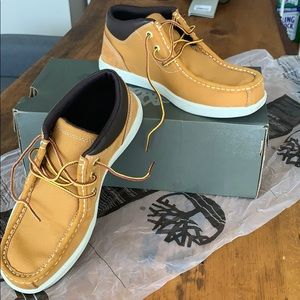 Timberland shoes canvas and suede